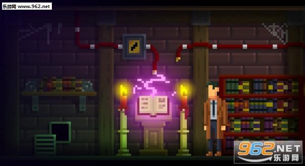 黑暗侦探像素复古解谜游戏截图2