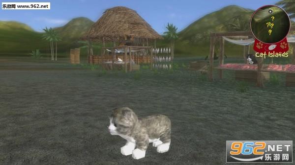 萌猫大冒险可爱的角色游戏截图1