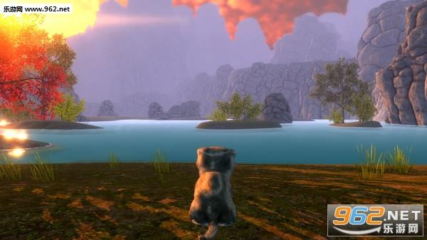 萌猫大冒险可爱的角色游戏截图2