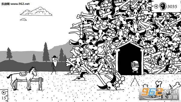 是一款卡通手绘风格的欢乐搞笑冒险游戏,玩家将体验趣味的西部的生活