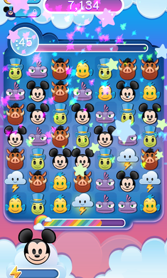 迪士尼表情包大作战游戏