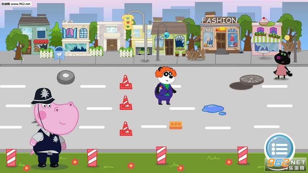 儿童警察游戏:河马侦探安卓版v1.0.3_截图1