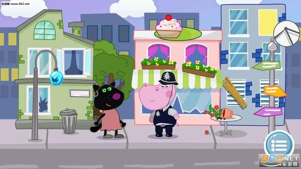 儿童警察游戏:河马侦探安卓版v1.0.3_截图3