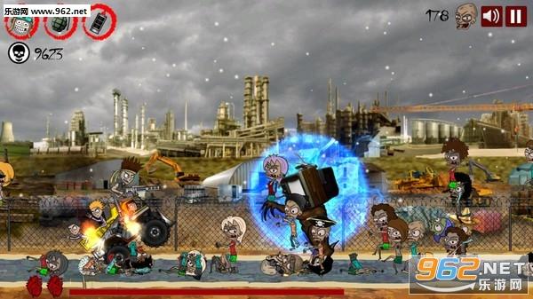 硬核摇滚僵尸卡车横版硬核游戏[预约]截图2