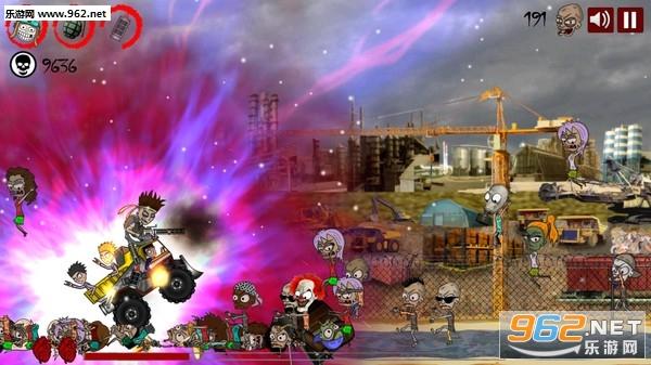 硬核摇滚僵尸卡车横版硬核游戏[预约]截图4
