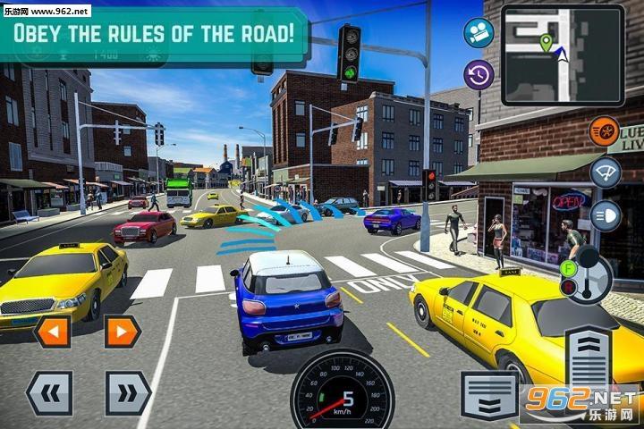 汽车驾驶学校模拟器 1.6无限金币直装版截图3
