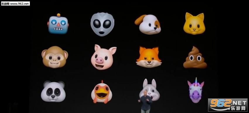 iOS11 GM的提前泄露给我们带来不少关于iPhone 8和苹果新产品的猛料,现在9to5Mac继续带来新的报道。 iOS11代码显示,苹果将会为iPhone 8提供一个名为Animoji的专有表情包,与其他表情不同的是,Animoji允许用户发送基于自己面部表情的3D动画表情。 除了个人表情之外,Animoji还支持将个人语音集成到动画中,当然,只要你的脑洞足够大,什么鬼畜表情和声音也是可以集成其中的。