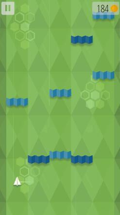 0.1   游戏介绍 折纸风格的纸飞机大战.