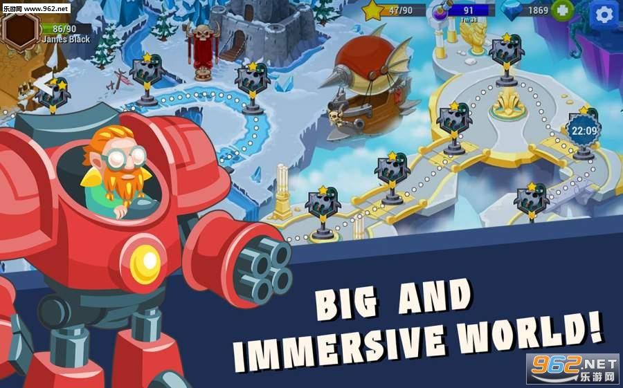 巨人时代:史诗塔防安卓版 (Age of Giants: Epic Tower Defense)v1.1_截图0