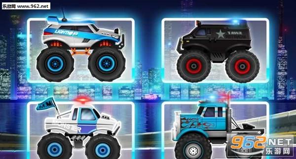 怪物卡车警察赛车安卓版v3.1_截图0