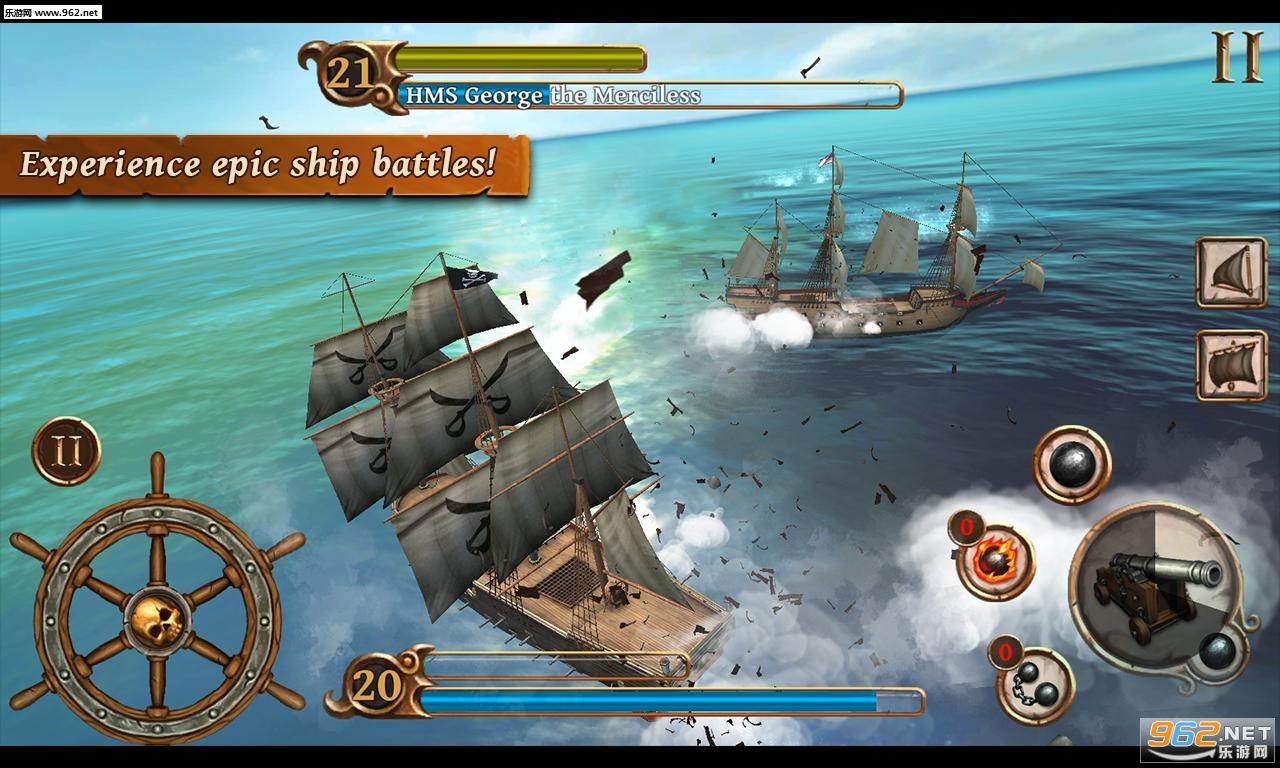 海盗战斗时代的船只内购破解版v1.46_截图0