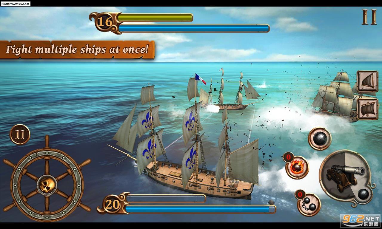 海盗战斗时代的船只内购破解版v1.46_截图2