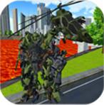 直升机机器人熔岩都市安卓版
