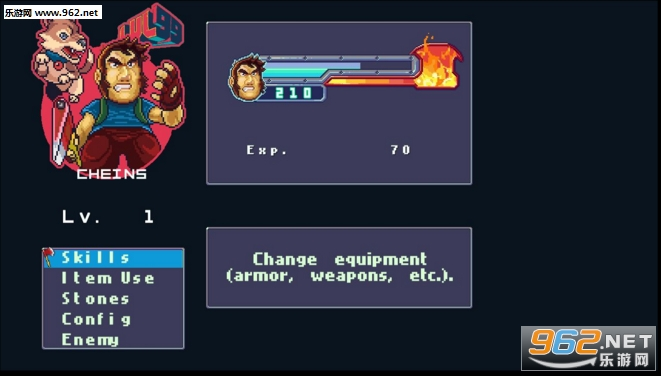 狂暴之斧横版独立动作游戏截图0
