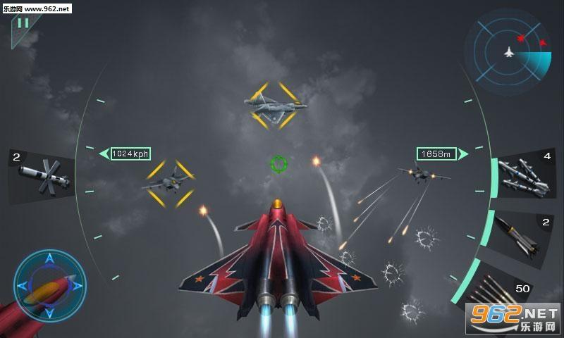 空中决战3D安卓版v1.1截图1
