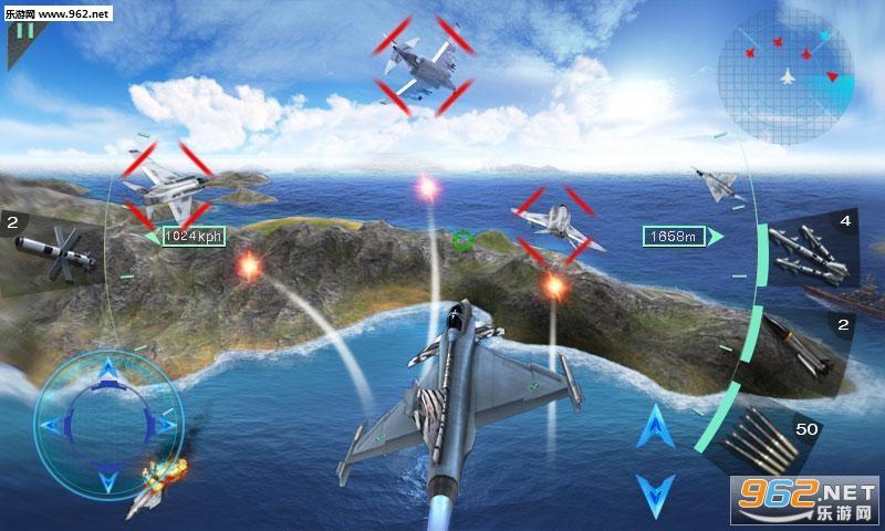 空中决战3D安卓版v1.1截图2