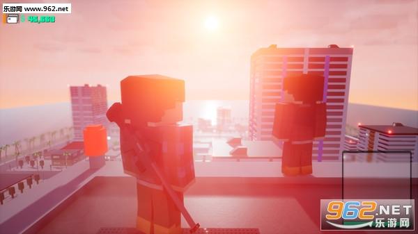 方块战士:开放世界游戏像素GTA截图0
