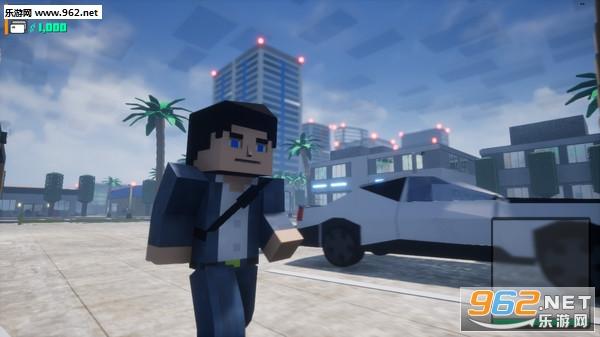 方块战士:开放世界游戏像素GTA截图2