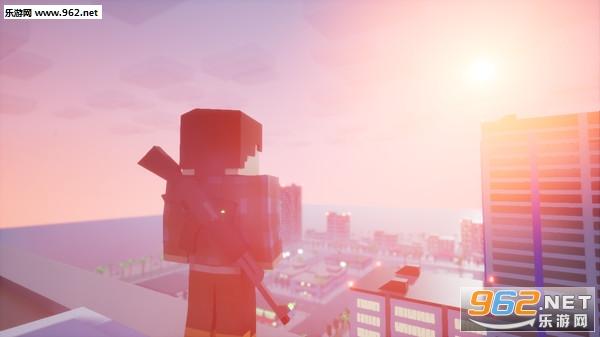 方块战士:开放世界游戏像素GTA截图3