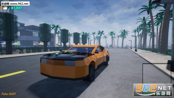 方块战士:开放世界游戏像素GTA截图5