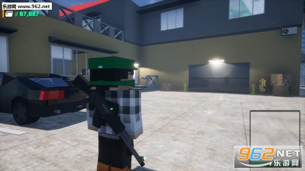 方块战士:开放世界游戏像素GTA截图6