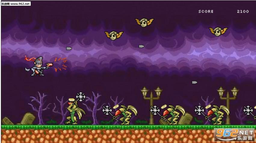 8Bit猎天使魔女PC版截图3