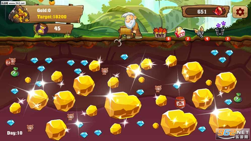 8   《黄金矿工淘金安卓版》游戏截图