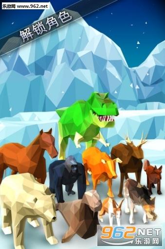 有许多可爱的动物!有提示,所以不要担心! 你在结冰的房子里.