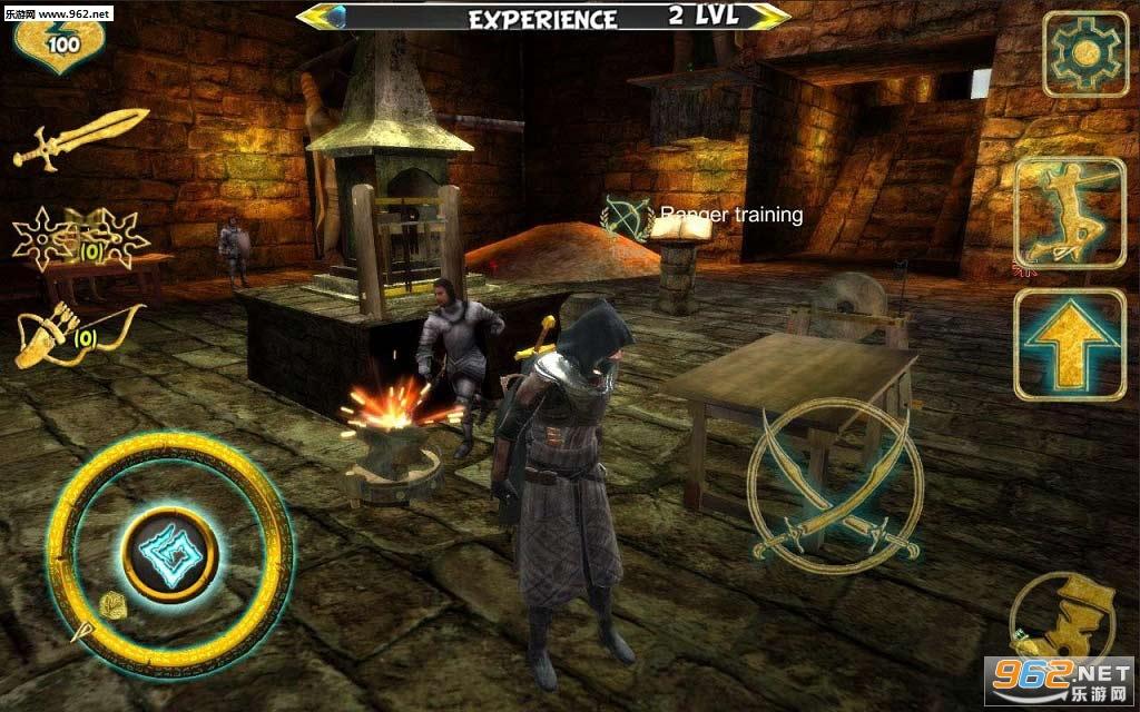 忍者武士刺客英雄IV破解版v1.0.8_截图0