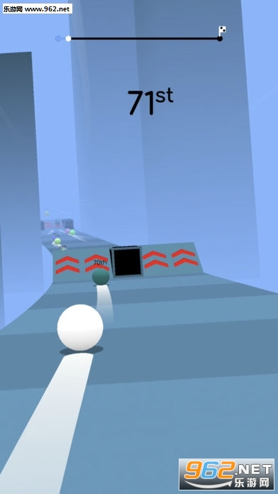 进击的小蝌蚪Balls Race中文版_截图