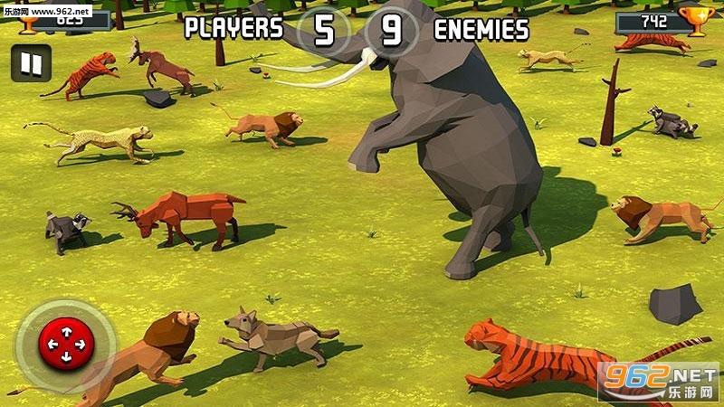 动物王国战斗模拟器3D安卓版v1.1_截图