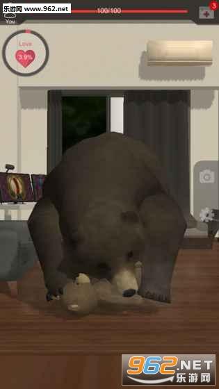 我的大灰熊AR手游_截图