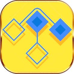 解开交叉的菱形路径线段游戏手机版v1.0