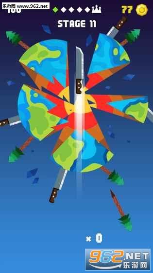 飞刀挑战(Knife Up)无限金币破解版v1.0.2_截图1