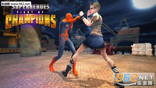 超级英雄冠军之战手游安卓版v1.0_截图1