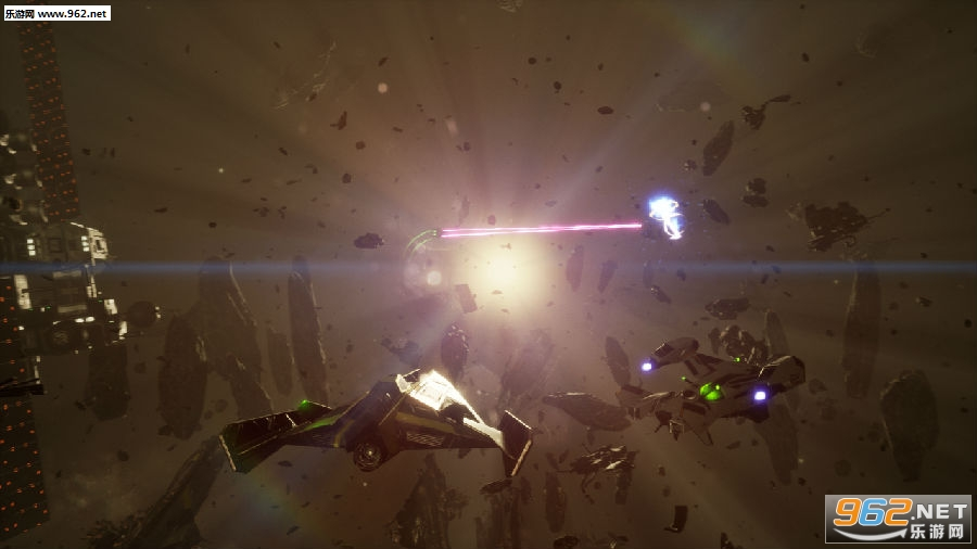 科幻3D射击游戏《无限细分DX》公布 登陆全平台