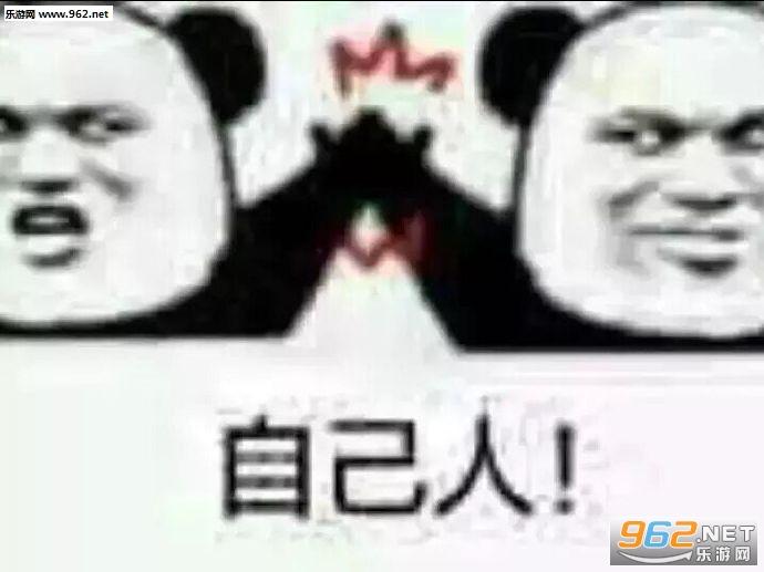 明人不说暗话滚熊猫头表情包图片