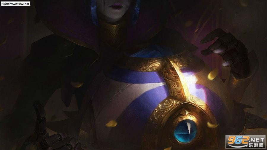 《英雄联盟》S8胜利女神皮肤:魔偶镶宝石 周身生利刃