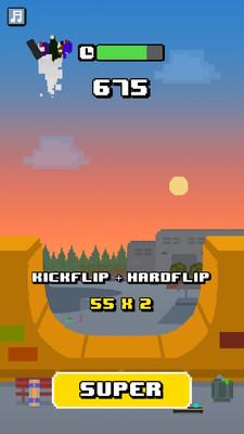 像素滑板少年安卓版v1.0(Halfpipe)截图2