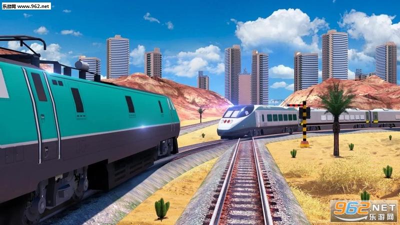 火车驾驶Train Driving Free安卓版v2.4_截图1