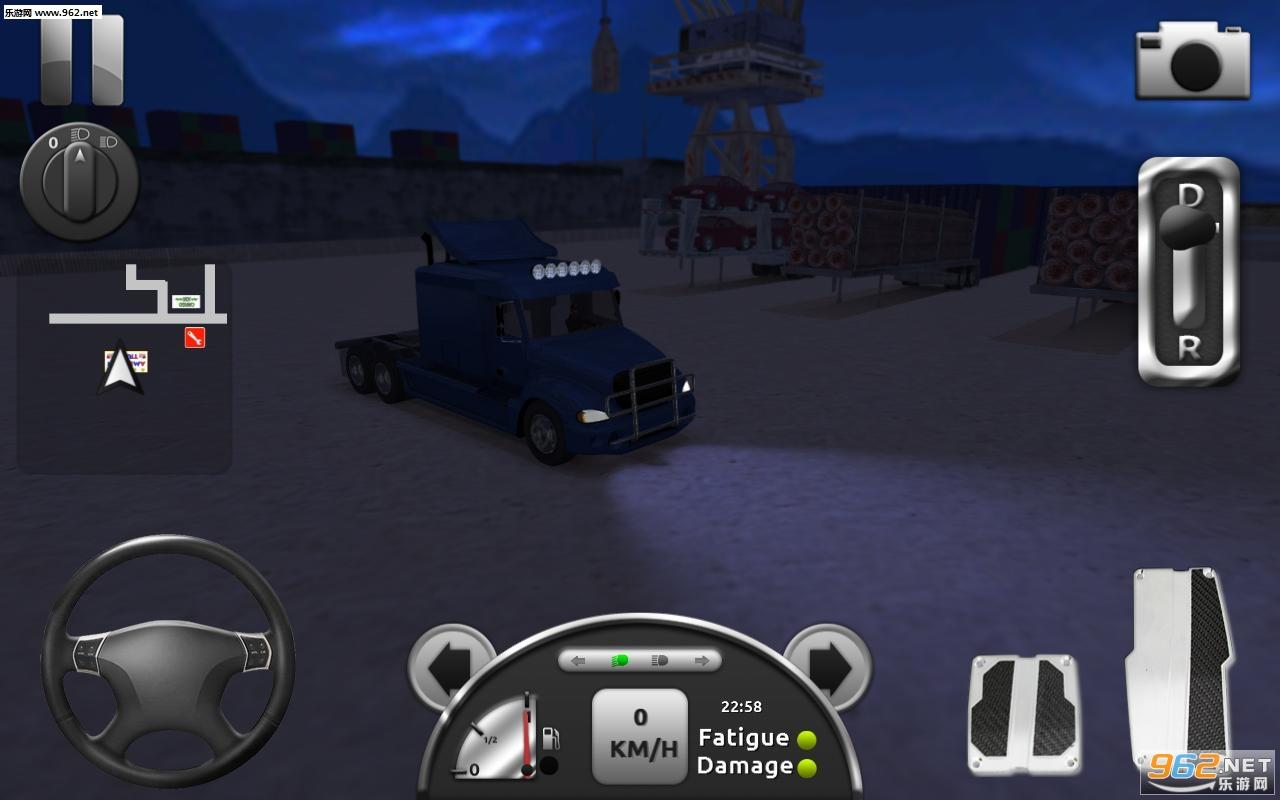 卡车模拟3D安卓版v2.1_截图0