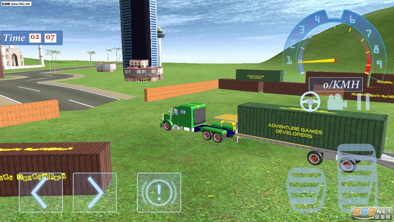 越野卡车模拟运输安卓版v1.0_截图1