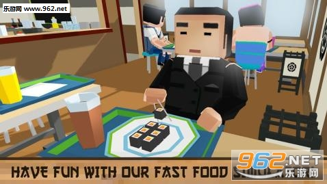 料理模拟器安卓版(Sushi Chef:Cooking Simulator)v1.0_截图0
