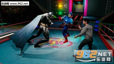 超级英雄摔跤竞技场安卓版v1.1.4_截图0