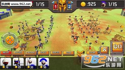 火柴人希腊勇士城堡战争安卓版v5.0_截图0