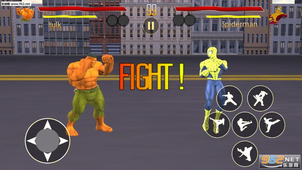 超级英雄毒液:终极蜘蛛战斗安卓版v1.0_截图1