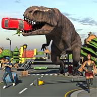 霸王龙破坏城市模拟安卓版