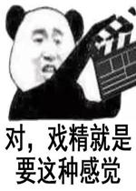评论  《对戏精就是要这种感觉表情包》是一组熊猫头搞笑表情包,内容图片
