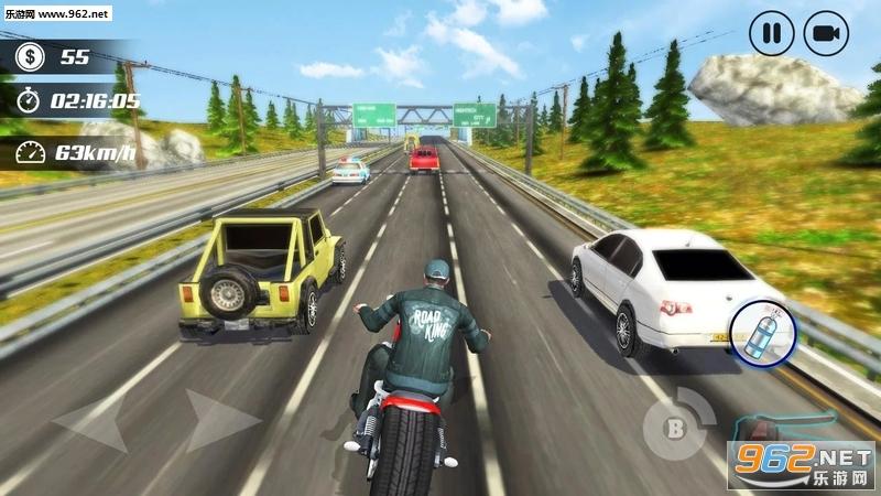 公路摩托车手安卓最新v2.6_截图3