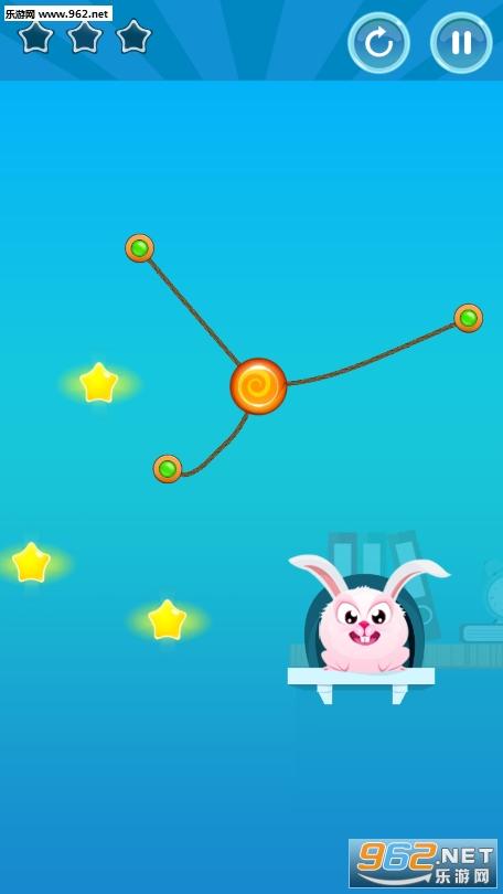 兔子割绳子游戏v1.0_截图3